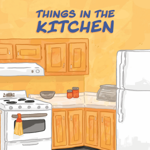 Things In The Kitchen Level 4 Inhabit Education Books