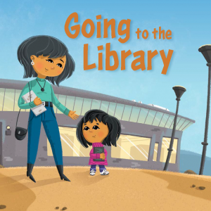 going to the library cover